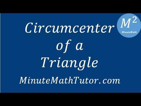 Circumcenter of a Triangle - Geometry