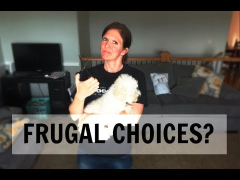 3 Frugal Decisions | Something I've never done!