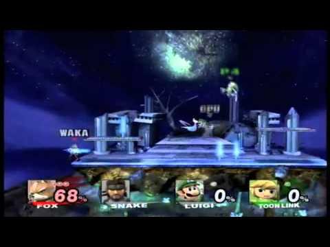 Super Smash Bros. Brawl Spear Pillar