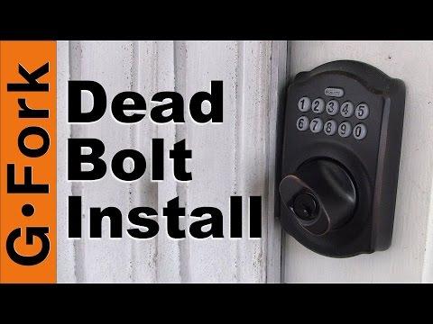 How To Install A Keypad Deadbolt Lock - GardenFork
