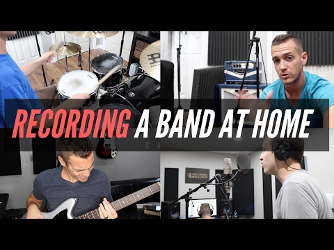 Recording Your Band In A Home Studio - TheRecordingRevolution.com