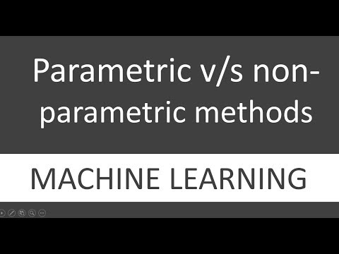 Differences between Parametric and Non-Parametric Methods in machine learning