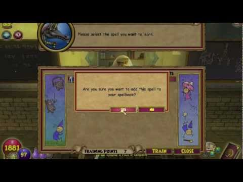 Wizard101: Hidden Balance School (spell training) (where to get spirit blade etc.)