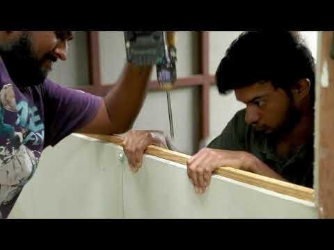 How to install Glass Window // House hold hacks