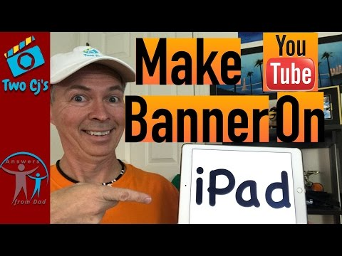 Using Pixelmator to Make Channel Banner