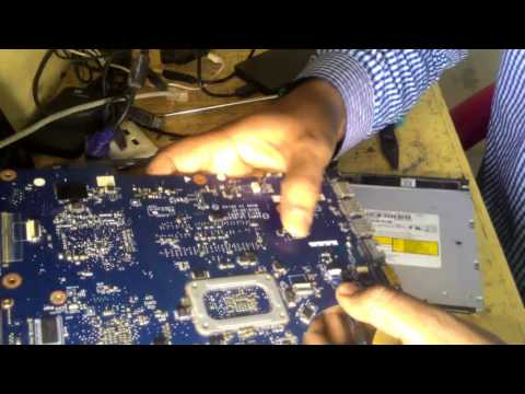 HOW TO TEST LAPTOP MOTHERBOARD