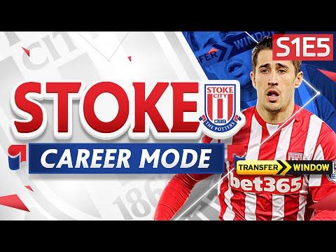 FIFA 16 Stoke Career Mode - TRANSFER WINDOW OPEN! CROUCH THE SAVIOUR!  - S1E5