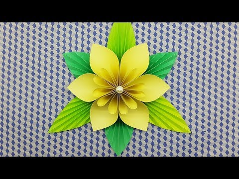 How to make Paper Flower - DIY Paper Craft