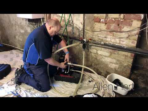 Doing a Magnacleanse Day in the life of a Plumber / Gas Engineer