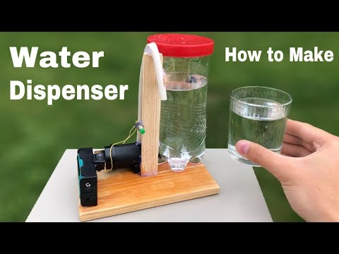 How to Make Electric Water Dispenser Machine at Home