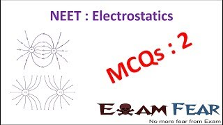NEET Physics Electrostatics : Multiple Choice Previous Years