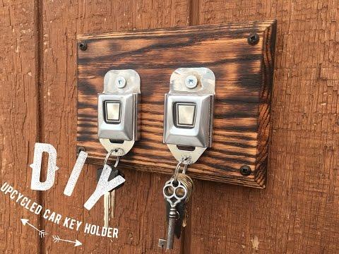 Diy Seatbelt Key Rack