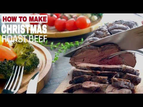 How to Make Christmas Roast Beef Tenderloin (Part 2)