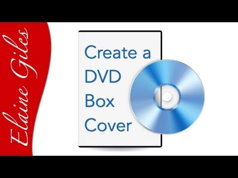 Photoshop Tutorial - Create a DVD Box Cover