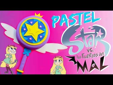 PASTEL DE STAR VS LA FUERZAS DEL MAL (VARITA MÁGICA)