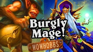(Hearthstone) Burgly Mage New Hobbs Concept Deck