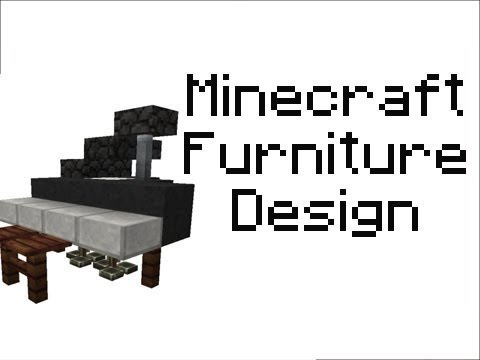 Minecraft (ANY VERSION) - Furniture Series Ep2 - Bunk Beds & Sun Bathing Benches (NO MODS!)