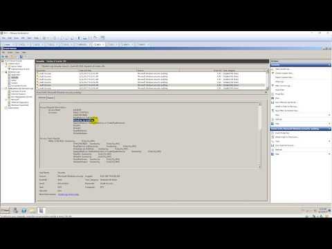 Settings Audit File Server running Windows Server 2008 R2 ( Workgroup )