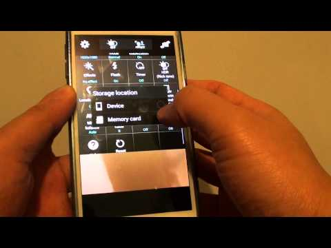 Samsung Galaxy S5: How to Change Camera Storage Location to SD Card