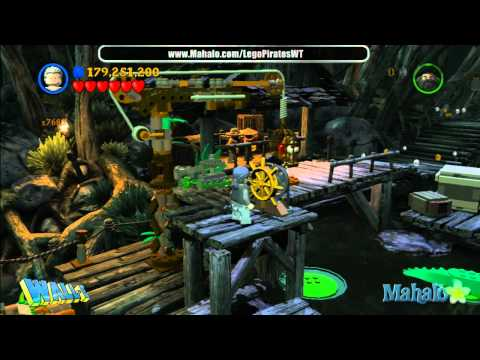 LEGO Pirates of the Caribbean Complete Free Play Walkthrough - Final Complete Pass - Pt 17