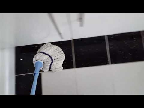 How to clean kitchen grout and floor tiles
