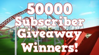 50000 Subscribers Giveaway Winners!