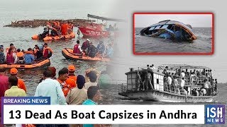 13 Dead As Boat Capsizes in Andhra