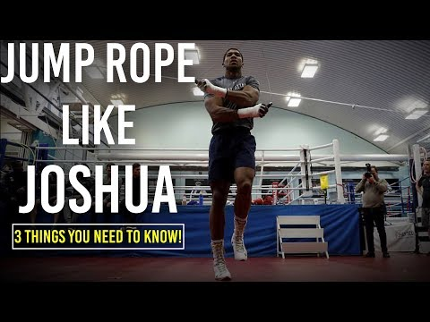 How to Jump Rope for Better Boxing | Anthony Joshua Routine Revealed!