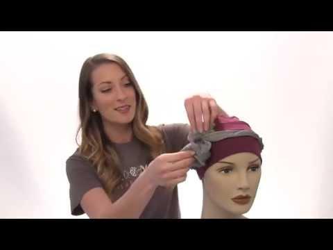 Cancer Hats: Three Seam Turban - Basic Head Covering for Chemo