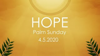 Palm Sunday - 4-5-2020 Service - FPCC Live Stream