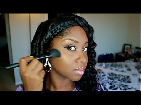 All About Bronzer & How To Apply Bronzer/Highlighter On Dark skin | What is Bronzer used for?