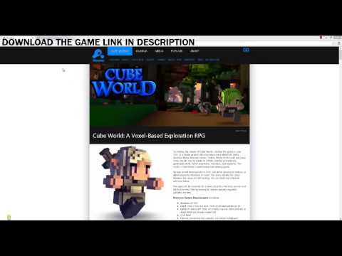 Cube World Alpha Game Download For PC