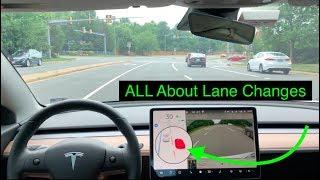 Download Tesla Autopilot | Lane Changes Are Getting Smarter | 2019.20.4.2 Video