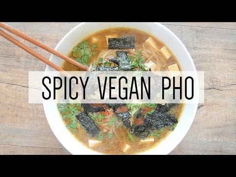 SPICY VEGAN PHO RECIPE | seriously rooted vegan