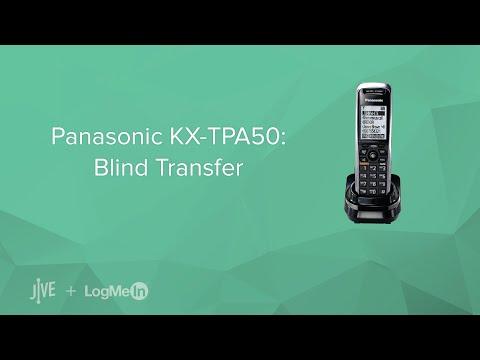 Panasonic KX-TPA50: Blind Transfer