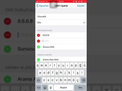 iPhone WiFi DNS Değiştirme | iOS 11