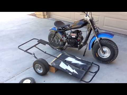 Update on 2 seater sidecar - trailer build
