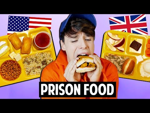 AMERICAN vs. BRITISH Prison Food