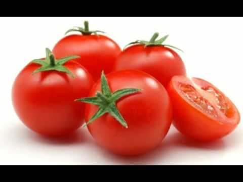 Tomatoes to remove tan from feet and legs