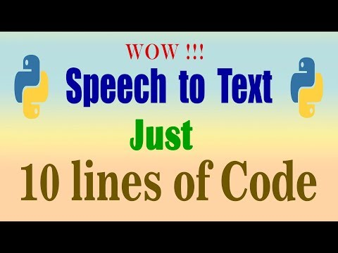 speech to text   converting live speech and audio file to text using python, google api