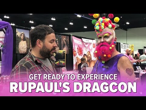 Get Ready To Experience RuPaul's DragCon