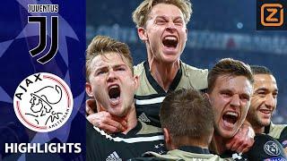 MEGASTUNT AJAX NA 22 JAAR 1/2 FINALE CL 💥   Juventus vs Ajax   Champions League 18/19  Samenvatting