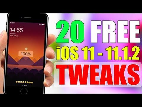 iOS 11 - 11.1.2 Jailbreak TWEAKS ** TOP 20 FREE **