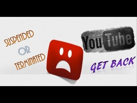 How to Reinstate Your Suspended Youtube Account/Channel :Full Tutorial [HD]