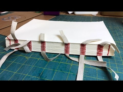 Pain in the Ass Method to Binding Your Own Sketchbooks