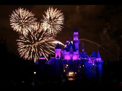 Disneyland Park Paris - Part 2 | Диснейленд Парк Париж (Лазерное шоу)