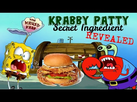 SpongeBob Theory: What are KRABBY PATTIES made of?!