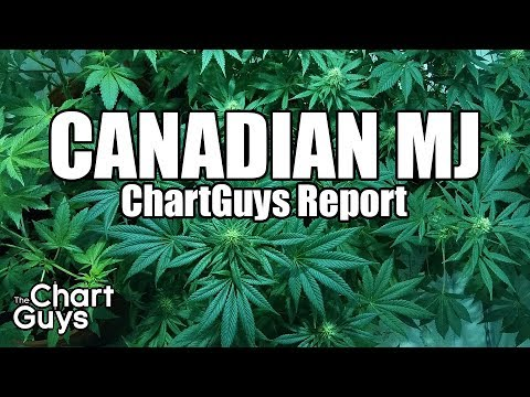 Canadian Marijuana Technical Analysis Chart 12/15/2017 by ChartGuys.com