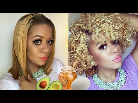 Straight Back to Curly Hair | BEST DIY Hair Protein Treatment