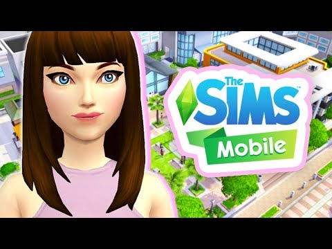 OUR NEW HOME & FIRST JOB🏡💚 // THE SIMS MOBILE #1 [GAMEPLAY]